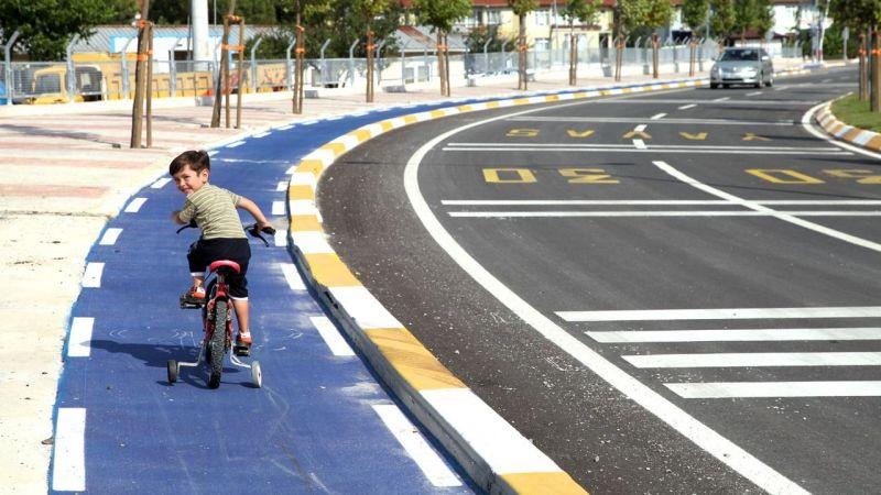 Sakarya'da hedef 500 kilometre bisiklet yolu