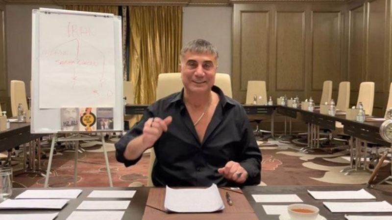 """Sedat Peker: """"Bu hafta çok eğleneceğiz"""""""