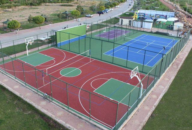 Spor sahası yaptırılacak