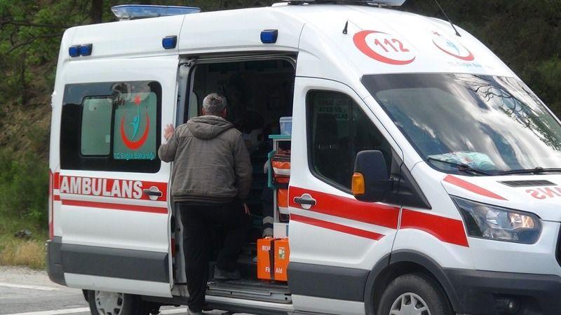 Sakin şehirde kaza: 1 yaralı