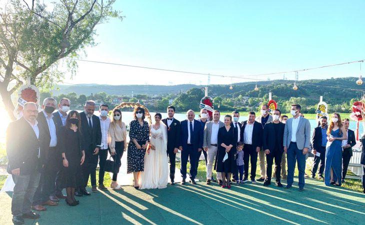 DEVA Partisi bu düğünde buluştu