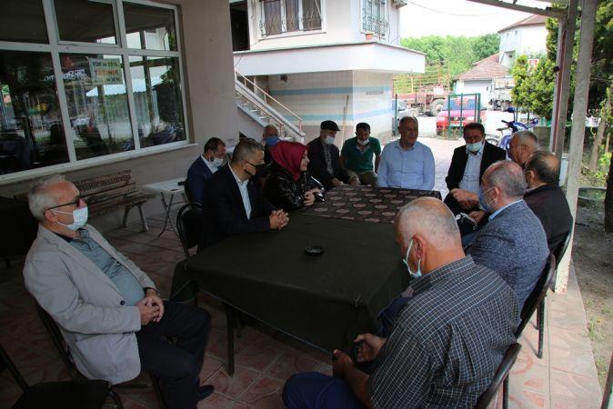 Vekil Atabek, mahalle mahalle gezip vatandaşlarla buluştu
