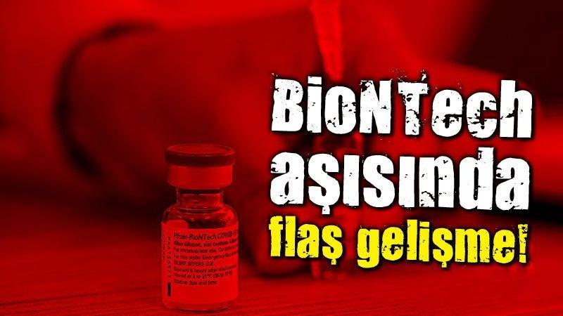 BionTech aşısı için flaş gelişme! Bakan Koca duyurdu