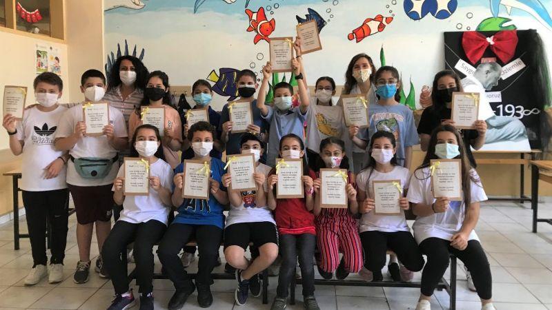Sabihahanım Ortaokulunda yaratıcı drama etkinliği