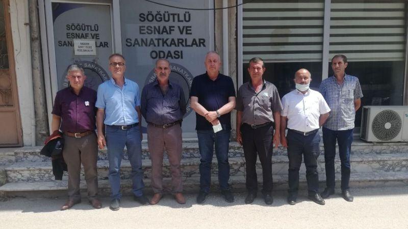 Söğütlü Belediye Başkanı Özten'den ziyaret
