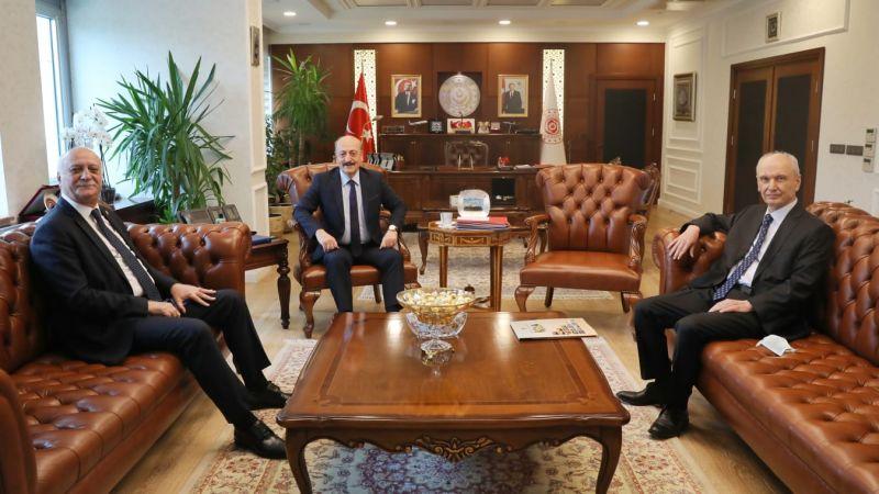 Genel Başkanı Bayraktar Bakan Bilgin ile görüştü