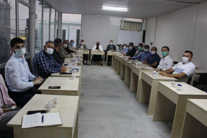 Mesleki eğitimde sektörle iş birliği toplantıları sürüyor.