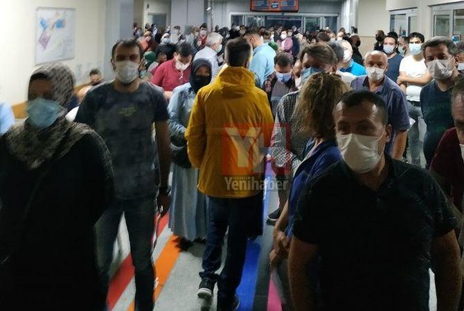 Yenikent'te aşı yoğunluğu