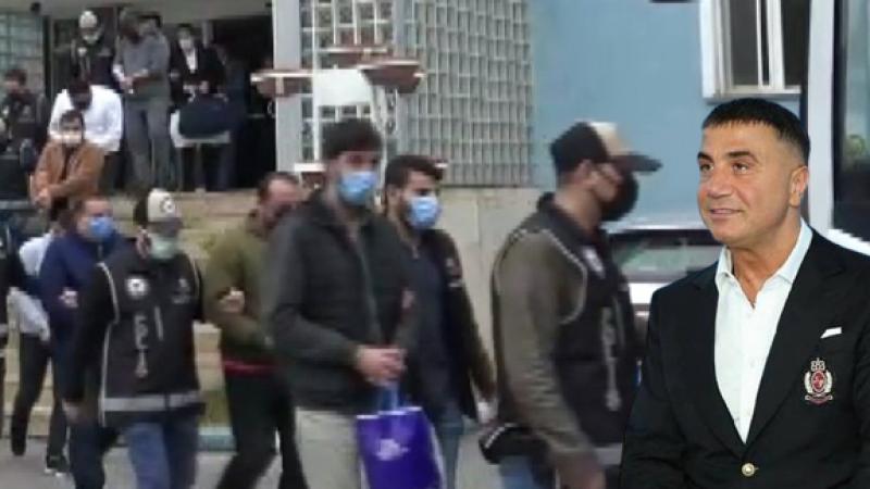 'Sedat Peker' operasyonu: 25 gözaltı