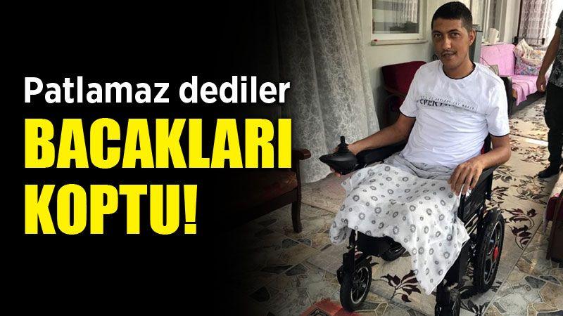Bacakları kopan Fatih'in gözünden feci patlama!