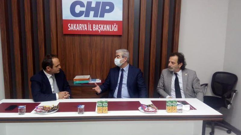 Elektrik mühendislerinden CHP'ye ziyaret