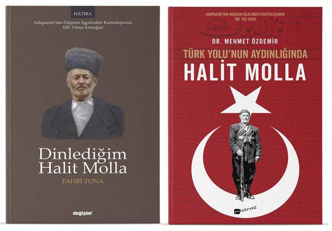 Kurtuluşun 100. yılında yıla iki 'Halit Molla' kitabı