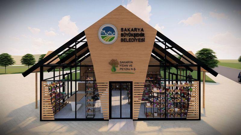 Sapanca'ya fidan tanıtım ve satış binası yaptırılacak
