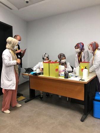 Sakarya'daki OSB'lerde aşı seferberliği
