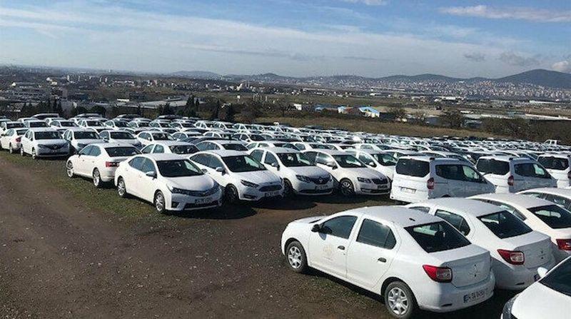 Ford marka araç icradan satılık
