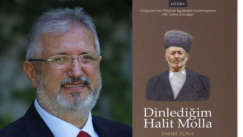 """Yazar Fahri Tuna """"Dinlediğim Halit Molla"""" kitabını anlattı"""