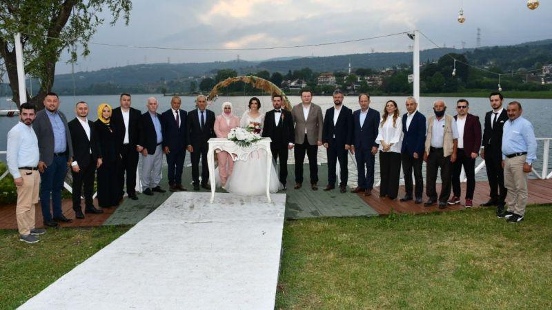 MHP'li Gülpınar evlendi