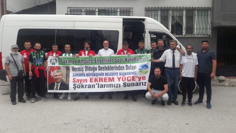 Ampute futbol takımı 1. lig aşkına!..