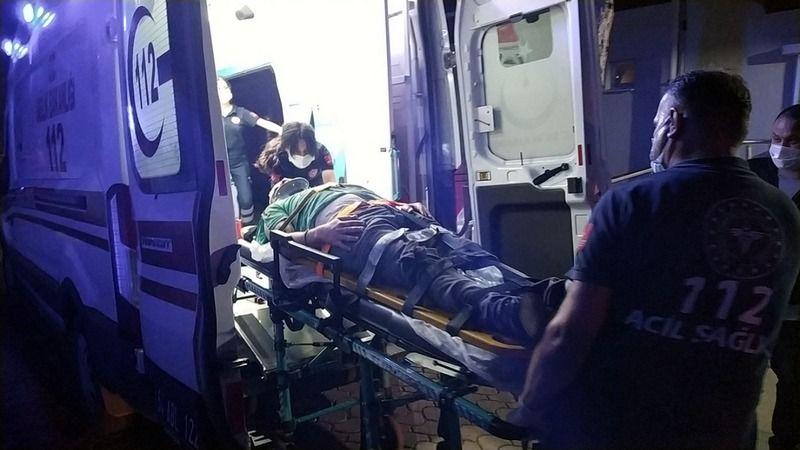 Motosiklet kazası: 2 yaralı