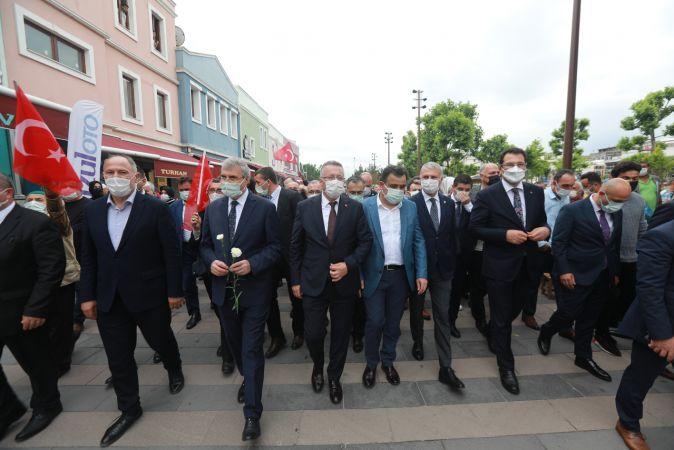 Şehirde kurtuluş yürüyüşü gerçekleştirildi!