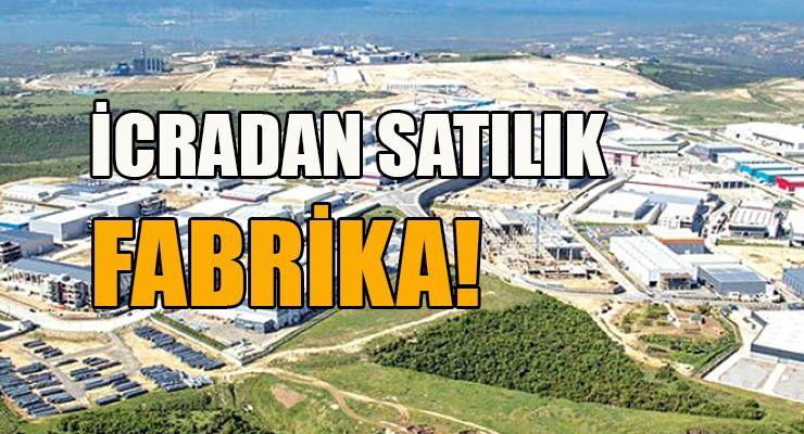 Söğütlü'de icradan satılık un fabrikası