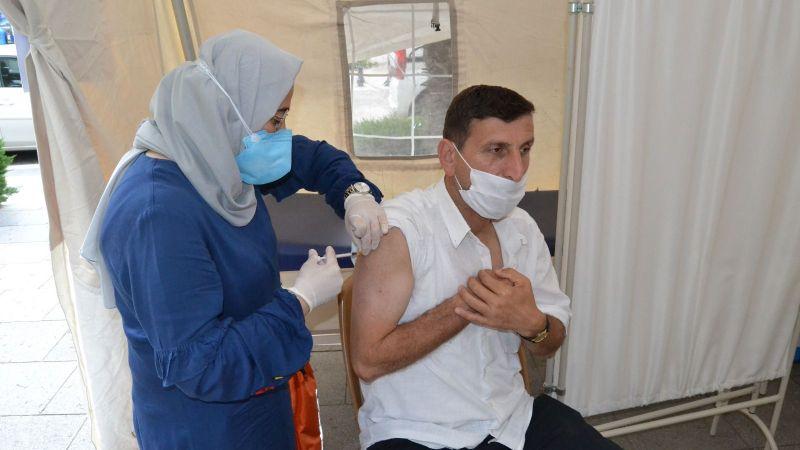 Sakarya'da aşı çadırları kuruldu!