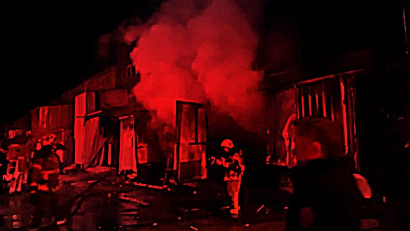 Otokar Fabrikası'nda yangın çıktı!