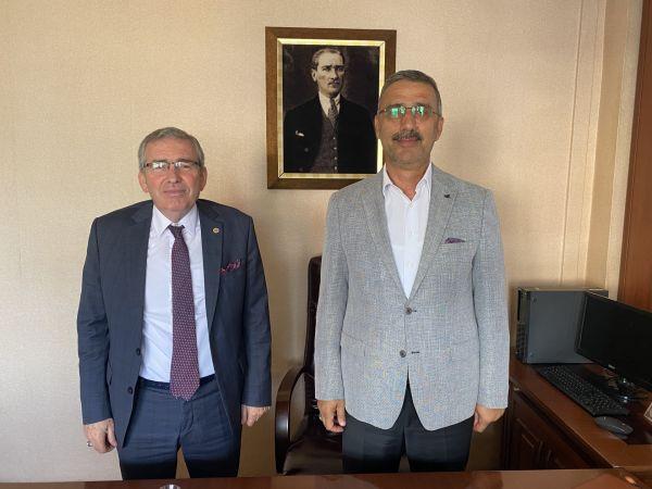 ASKF yönetiminden Lütfi Bayraktar'a ziyaret