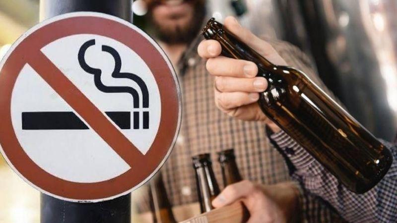 Sigara ve alkol için flaş karar