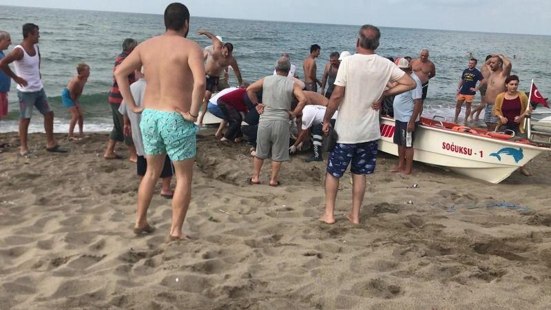 Karasu'da hırçın denizin son kurbanı Moldovalı genç!