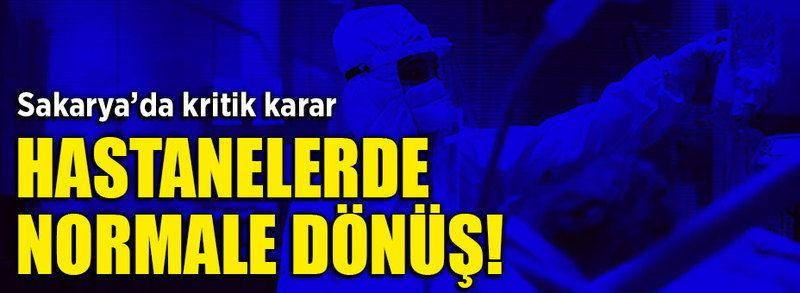 Sakarya'daki hastaneler için kritik karar!