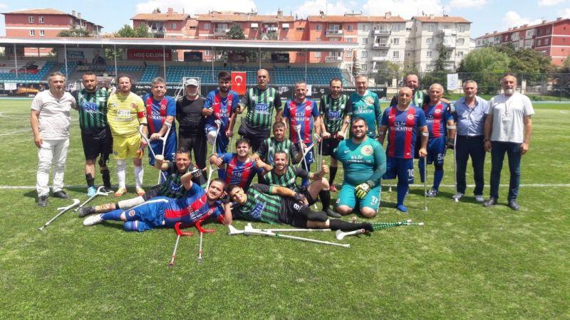 Ampute futbol takımı 2. ligde kaldı
