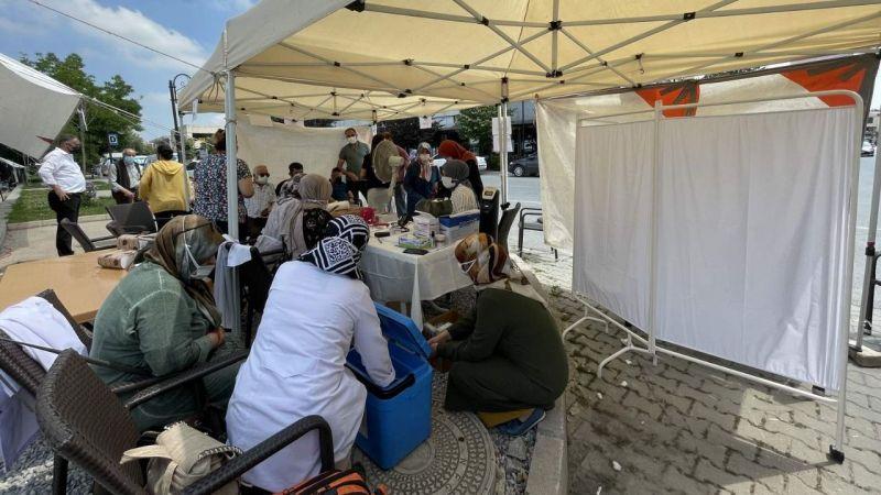 Arifiye'de aşı istasyonu kuruldu