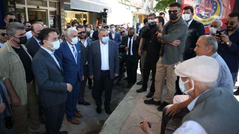 Akyazı'da Ali Babacan rüzgârı