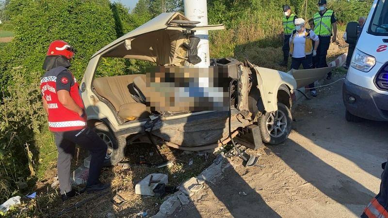 Feci kazada hayatını kaybetti!