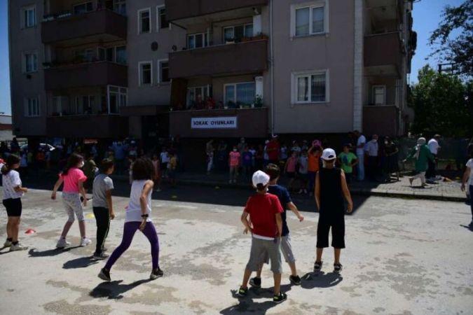 'Mahallemde Oyun Var' projesi Bahçelievler'de yapıldı