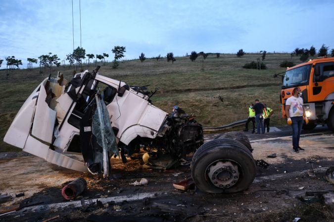 TEM Otoyolu'nda feci kaza: 1 ölü