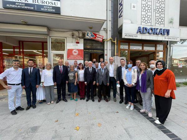 CHP'li 37 vekil Sakarya'yı dolaştı