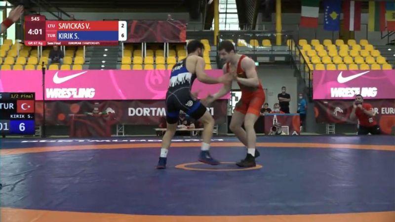 Serhat Kırık Avrupa Şampiyonası'nda finalde!