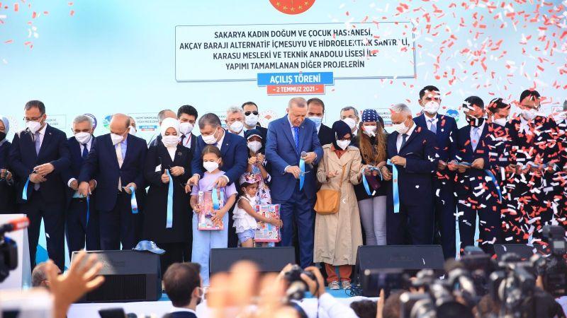 AK Parti Sakarya'dan miting teşekkürü