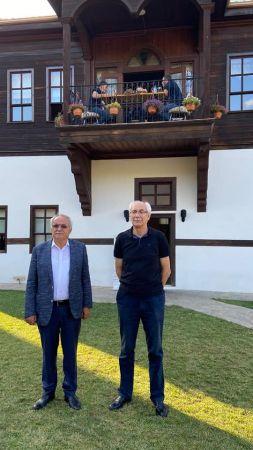 Eski Başkan Özkaraman'a ziyaret