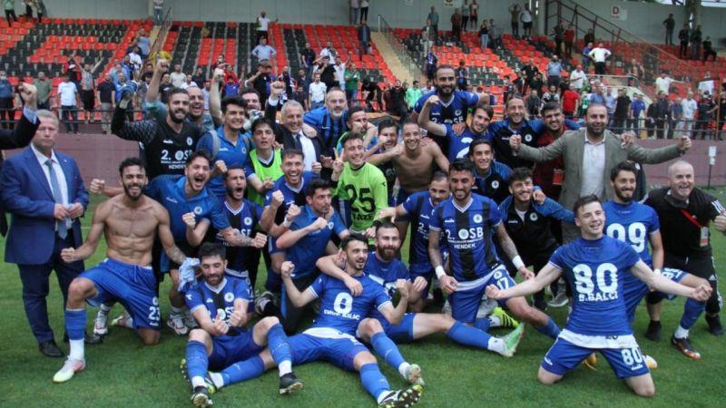 Hendekspor'un şampiyonluk maçı Yalova'da