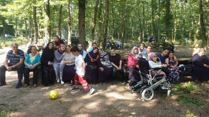Engelliler piknikte buluştu