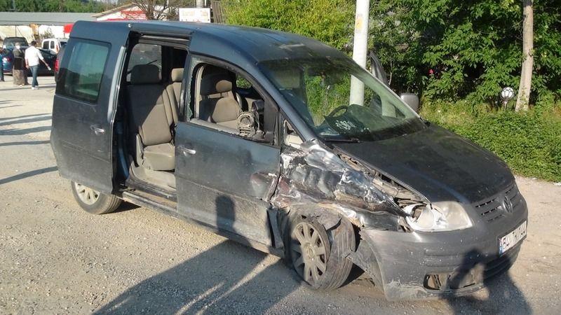 Taraklı'da kaza: 1 yaralı