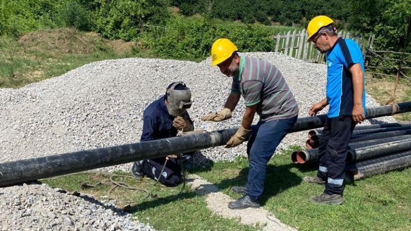 Ferizli'de su iletimi sorununu Büyükşehir SASKİ çözdü