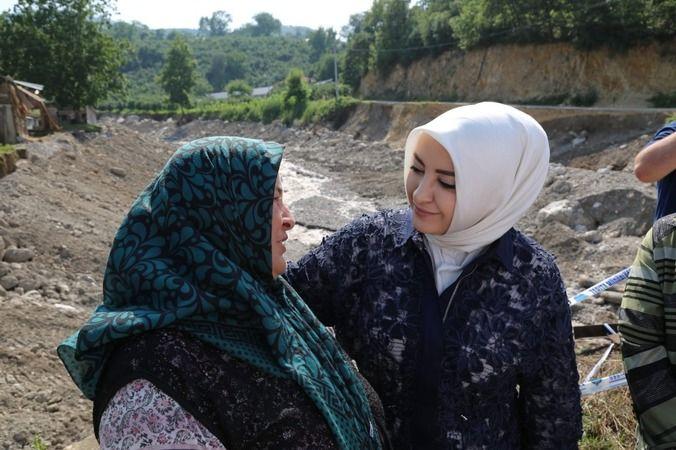 Milletvekili Atabek sel bölgesinde