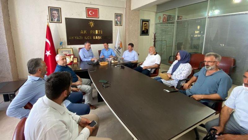 AK Parti'den sel bölgesine özel ilgi