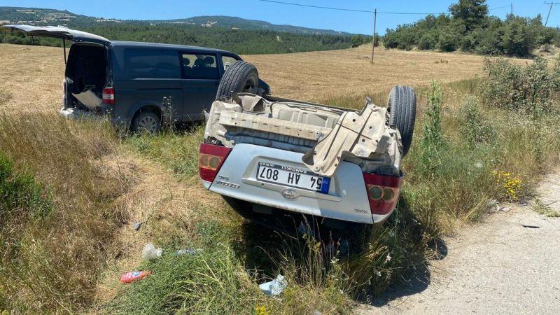 Taraklı'da kaza: 2 yaralı