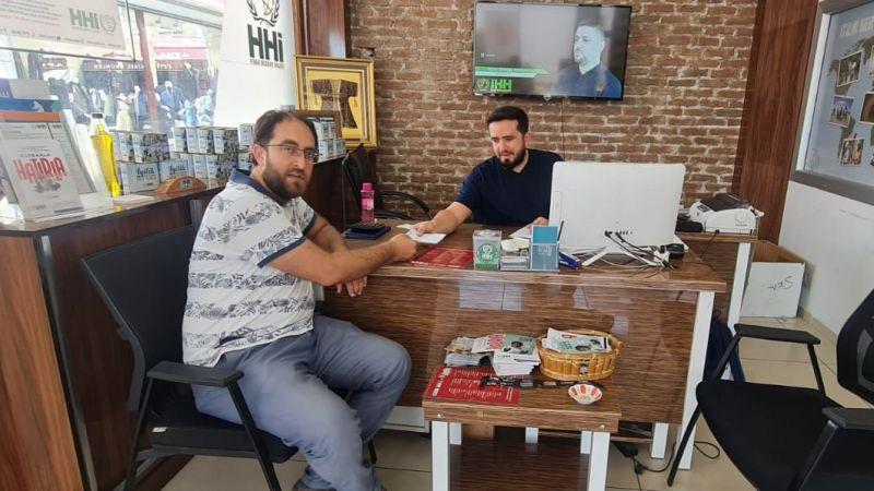 Murabıt Eğitim Vakfından Filistine Destek