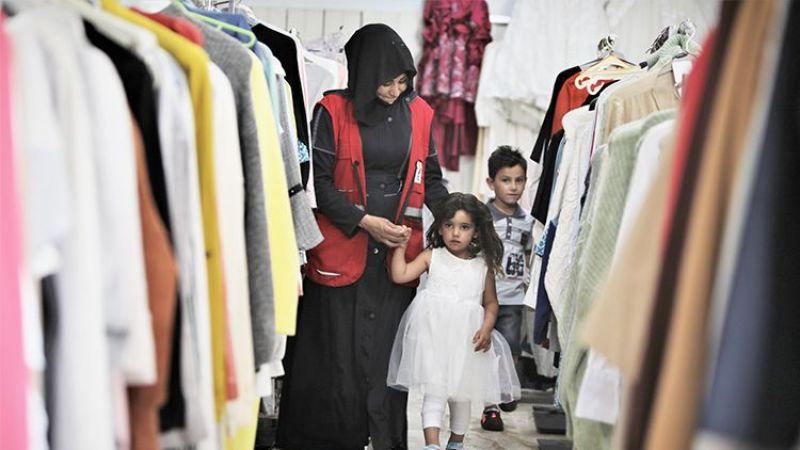 Kızılay Suriye'de 100 bin kişiye bayramlık dağıtacak